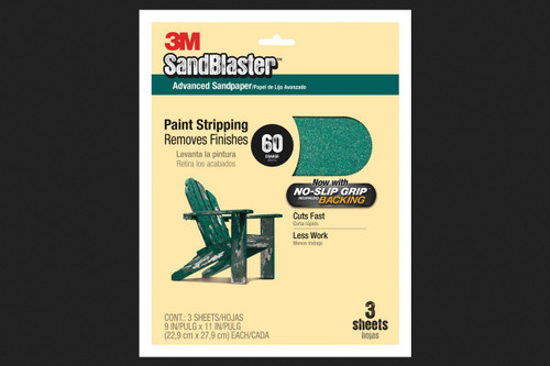 3M 32230 Stikit Green Corps 2-3//4 x 16-1//2 80D Grit Sheet