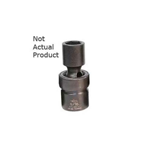 "Shallow K Tool 37510 Impact Socket Flex 10mm 6 Point 3//8/"" Drive"