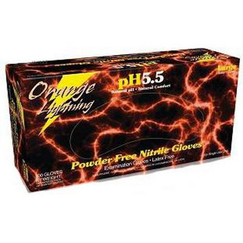 Box of 100 Aloe Power XX-LARGE Powder Free Nitrile Gloves