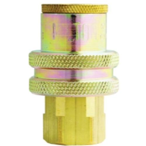 """T-Style,1//4/"""" Basic Flow 1//4/"""" Female NPT 1 // 5 Milton 787 Sleeve Ring Coupler"""