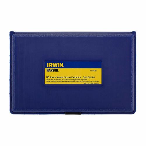 IRWIN 35 Piece Master ScrewExtractor Set with Cobalt Bits HA11135