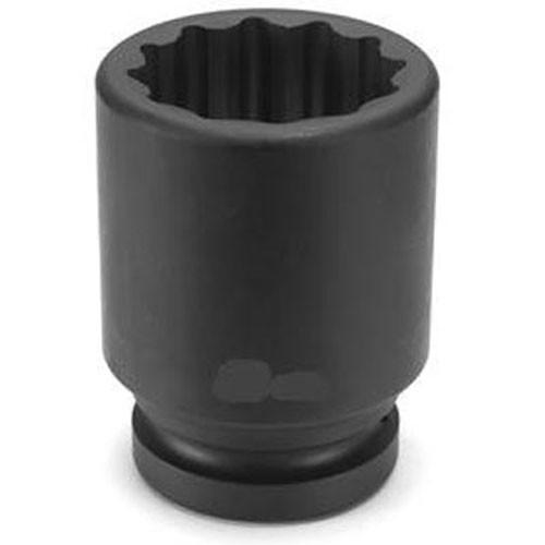"Grey Pneumatic 2140R 1//2/"" Drive x 1-1//4/"" Standard 12 Point Socket"
