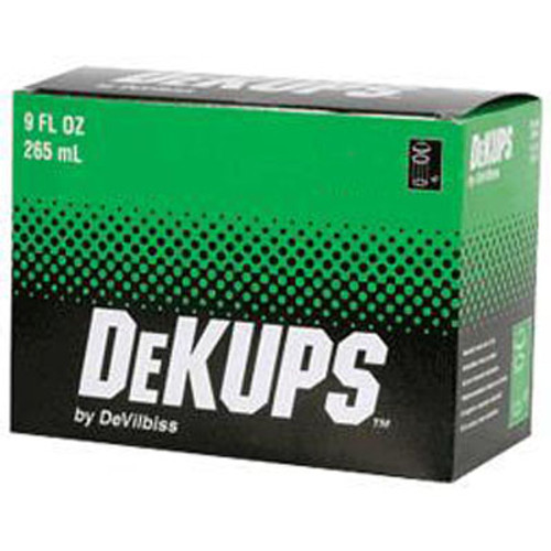 DeVilbiss DPC608 Reusable Frame and Lid 34 fl Capacity, Pack of 2 oz