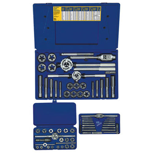 25 Piece Fractional Tap and Hexagon Die Set HAN97094 Brand New!