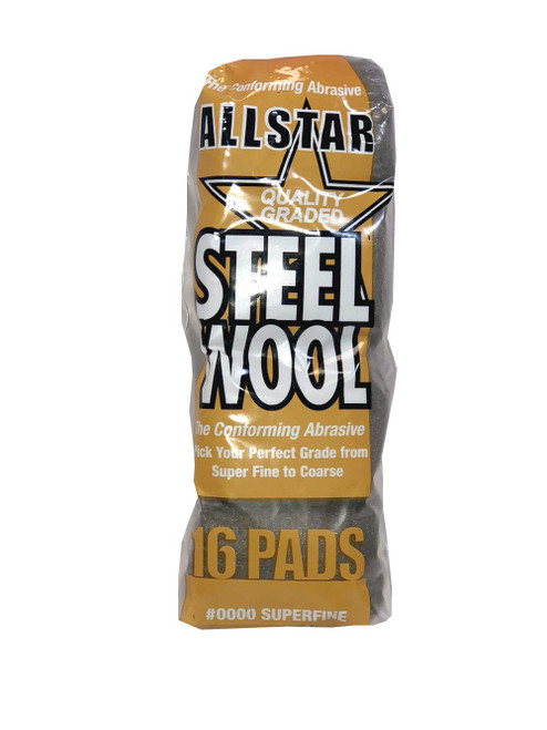 Reel Steel Wool Hi-Tech Industries Grade 000 Extra Fine HIT-73005 5 Lb