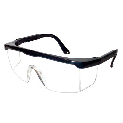 Gateway Safety Luminary Safety Glasses BlackClear Clear Anti-Fog Lens