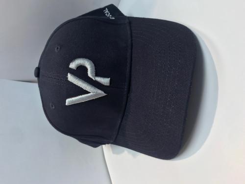 BYU Vocal Point Navy Blue  VP  Baseball Cap- Hat - BYU Music Store a7bc0c7f6404