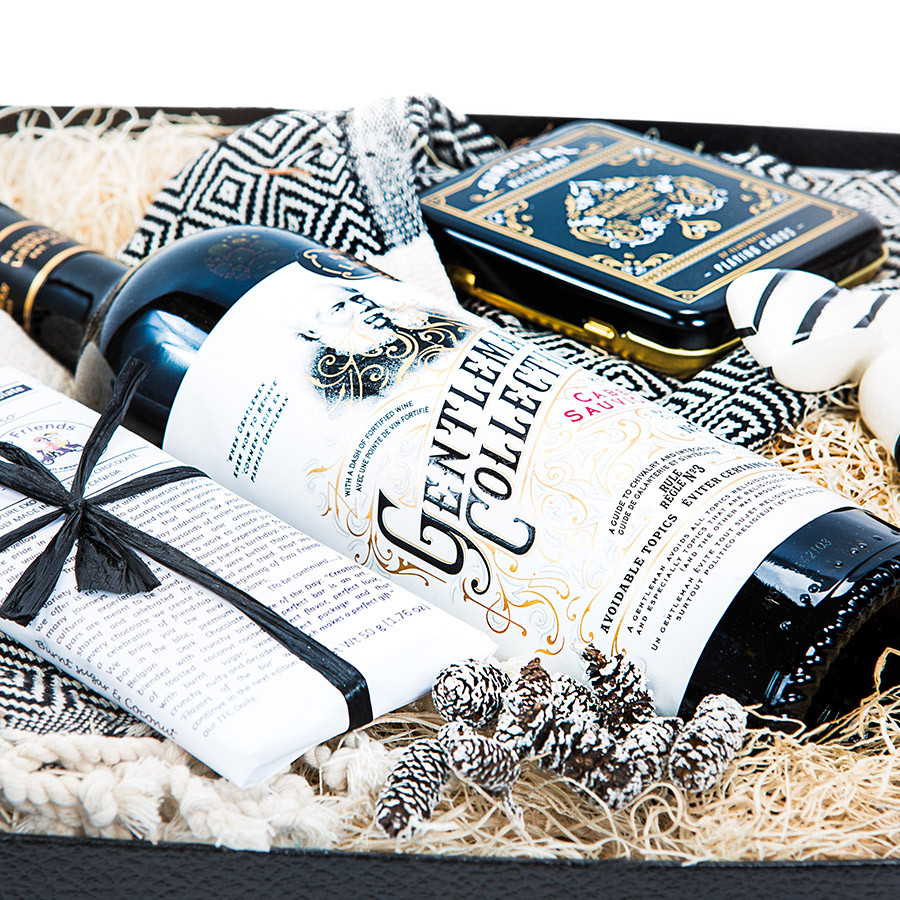 Wine Lover Gift for Him Manbox