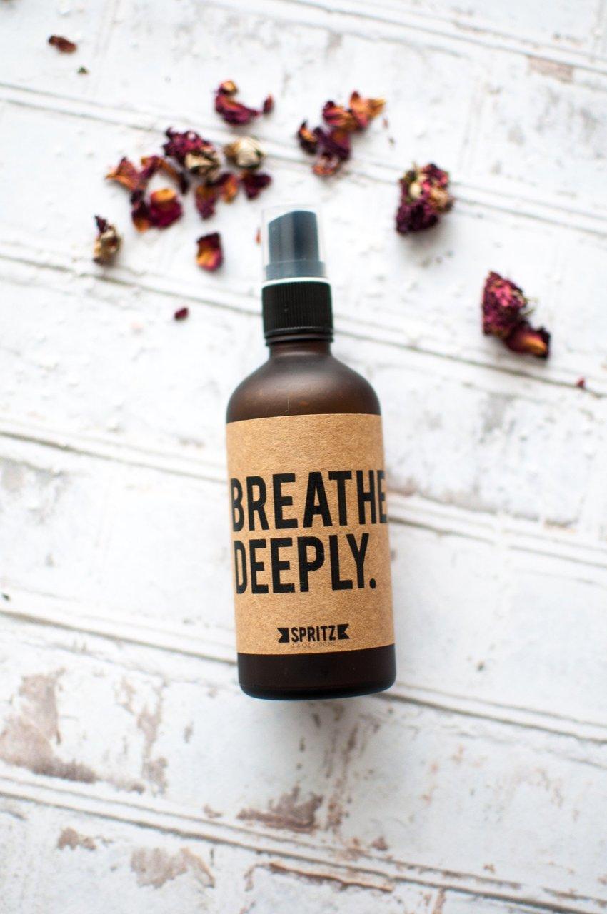 Happy Spritz-Breathe Deeply