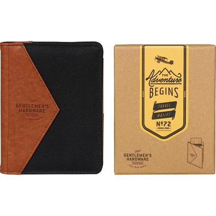 Mens Passport Wallet Gift