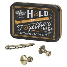 Nut and Bolts Tie Set
