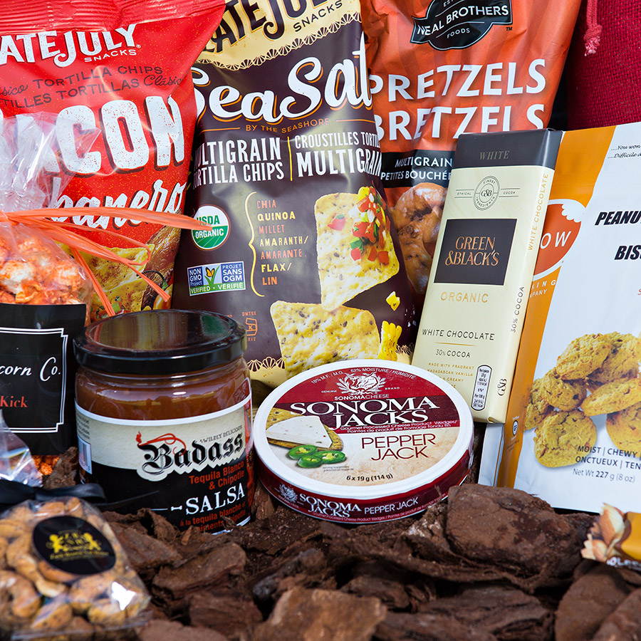 Snacking Gift Basket Delivery