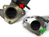 Darkside GTB Turbo Adapter Flange for 1.9 and 2.0 TDI PD Engines