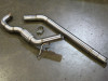"""Darkside 2.5"""" Stainless De-Cat Downpipe for VW Transporter T5 1.9 TDi BRR, BRS & AXB Engines"""