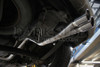 "Darkside VW Caddy 2K / MK3 Cat-Back Exhaust System - Twin 3"" Tip"