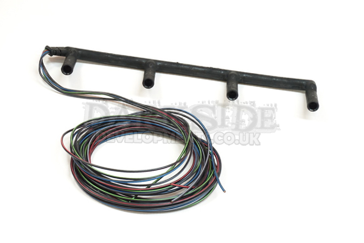 genuine 4 wire vw glow plug wiring loom for vw 1 9 & 2 0 8v tdi pd