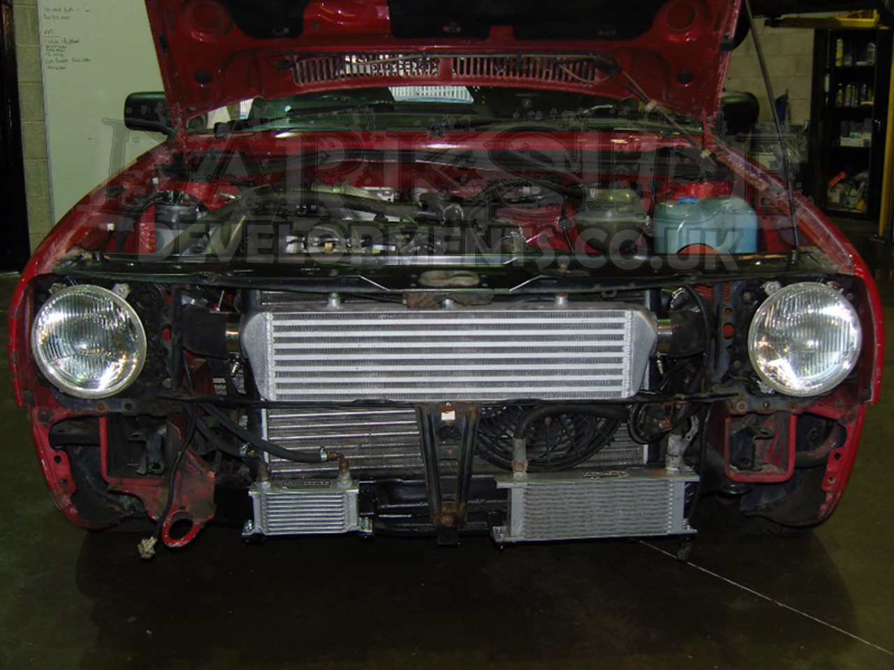 Universal Front Mount Intercoolers (FMIC) with 57mm (2 25