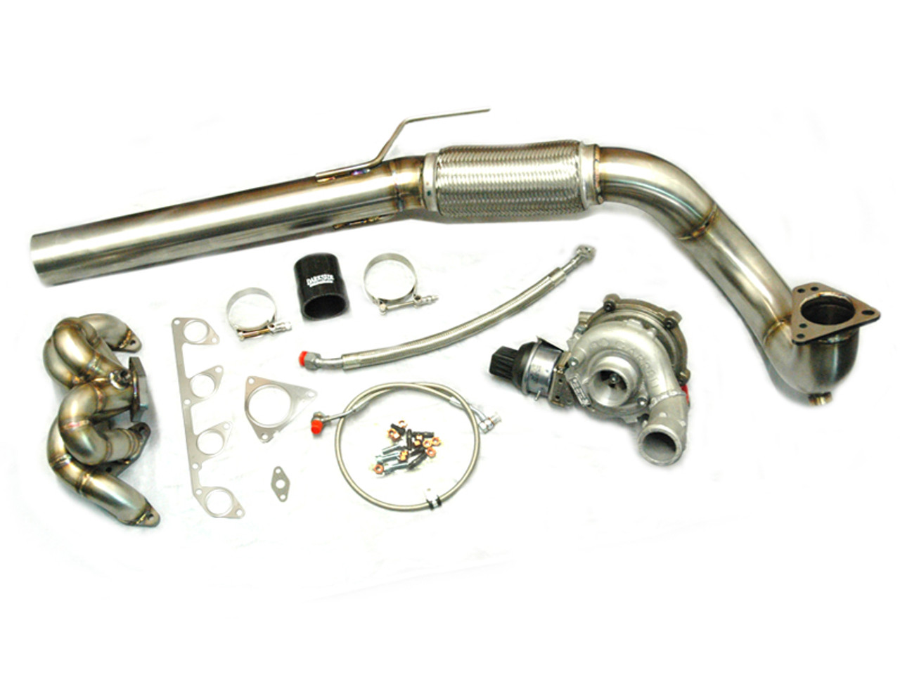 AUDI A3 2.0 TDI Clamp-on Exhaust flexi Repair section Stainless 1.6 TDi  1.9TDi