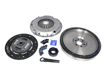 Darkside SILENT G60 Single Mass Cast Flywheel & Clutch Kit for 5 Speed 02J / 02A / 02R