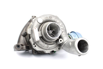 GTB2260VK Turbocharger with MFS Billet Compressor Wheel and Vacuum Conversion