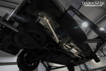 Darkside VW Transporter T5 SWB 2.5 / 2.0 ( including 4Motion ) Cat-Back Exhaust System