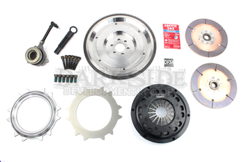 DKM Single Mass Flywheel (SMF) & Twin Disc Clutch Kit for VW 02Q 6 Speed - MR-034-062