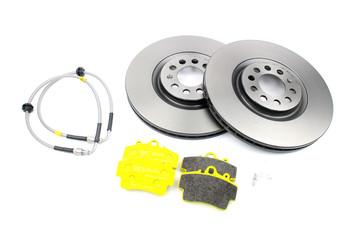 Darkside Mk4 Platform 312mm Brake Upgrade Fitting Kit for Porsche 986 4 Pot Front Calipers