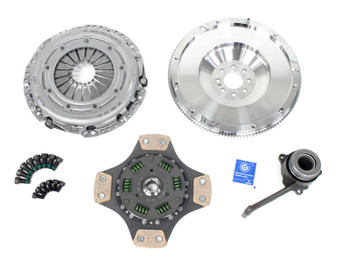 Darkside Billet Single Mass Flywheel (SMF) & Clutch Kit for VW 02Q 6 Speed (8 Bolt Crank)