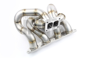 Mitsubishi Evo 4 / 5 / 6 / 7 / 8 / 9 T4 Twin Scroll BorgWarner Tubular Manifold - Dual 38mm Wastegates