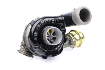 Darkside GTD2872VRK Billet Hybrid with Vacuum Conversion (BMW V-Band Housing)
