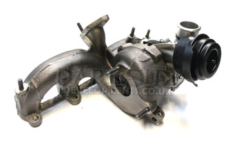 Melett GT1749VB (ARL PD150) VNT17 Turbocharger with Modified Outlet