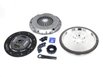 Darkside SILENT G60 Single Mass Billet Flywheel & Clutch Kit for 5 Speed 02J / 02A / 02R