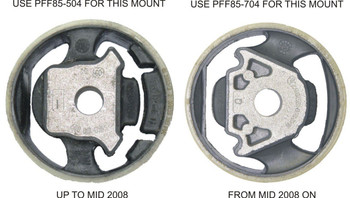 Front Lower Engine Mount Insert (Large) Track - PFF85-504P