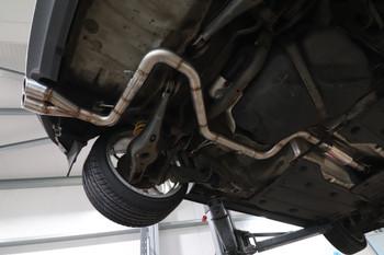 Darkside VW MK5 / MK6 Golf Cat-Back Exhaust System 2WD Only