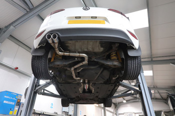 Darkside VW MK7 Platform Cat-Back Exhaust System 2WD Only