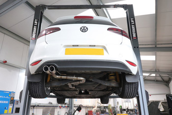 Darkside VW MK7 Golf 2.0 TDI Cat-Back Exhaust System 2WD Only
