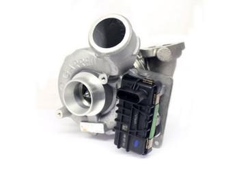 Garrett GTB1756VK Turbocharger with Electronic Actuator (Rotated)