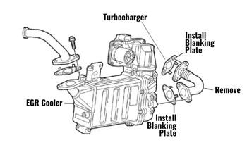 VW Transporter T6 2.0 TDI EGR Delete Blanking Kit