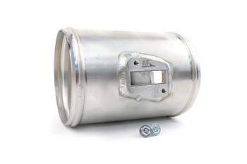 "Darkside 101.6mm (4"") 5.5"" Long Aluminium Pipe with MAF Sensor Boss for 059 906 461 Q"