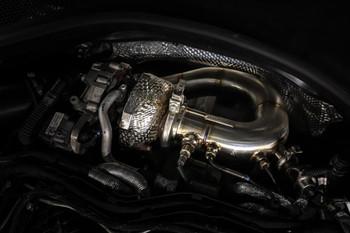 DPF Delete Downpipe for 3.0 V6 TDi Engine A6 / A7 C7 Platform