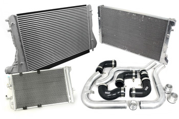 Audi S3 Intercooler Conversion for 1.9 TDi PD100, PD115 & PD130 inc Alloy Radiator & Hard Pipework Kit