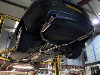 "Audi A6 3.0TDi Quattro 2.5"" Dual Exit (3 Silencers)"