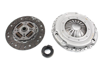 LuK 3 Piece Clutch Kit for 5 Speed 1.6 / 2.0 TDi Common Rail with Solid Flywheel