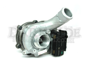 Garrett GTB2260VK Turbocharger with Electronic Actuator (Elongated Spaced)