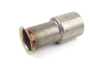 "3"" Stainless Slip Joint to V-band for USA Spec Vehicles With Secondary Catalyst"