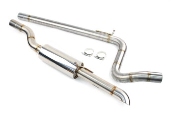 "Darkside MK4 Golf Platform 2.5"" Cat-Back Exhaust System 2WD"
