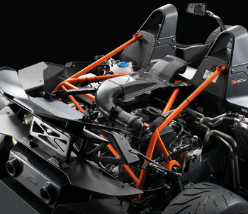 X-BOW PowerParts Performance Pack 2 - Carbon airbox without steel frame