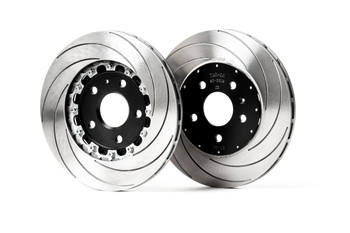 X-BOW PowerParts Racing Brake Disc - 2-Piece - Right