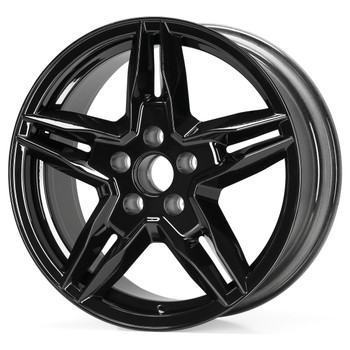 X-BOW PowerParts 5-Bolt Wheel Set (Black)