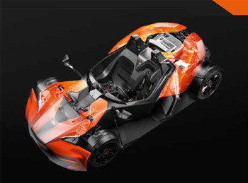 X-BOW PowerParts Facelift Upgrade Kit - Electric Orange